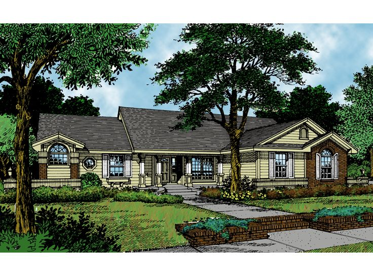 Traditional Home Plan, 043H-0041