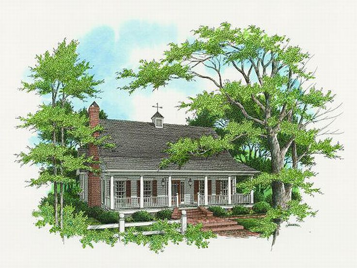 Country Home Design, 030H-0051