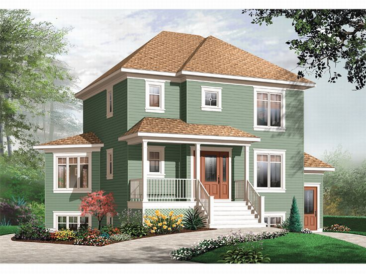Plan 027h 0039 find unique house plans home plans and for Multi generational home plans