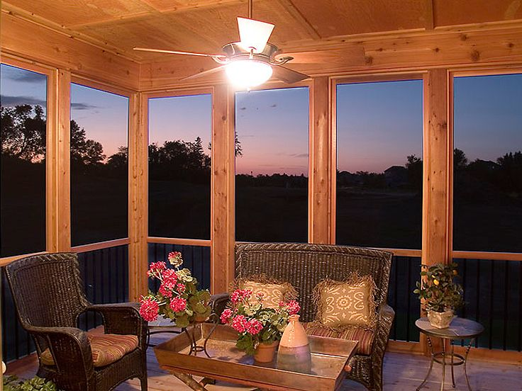 Screen Porch Photo, 007H-0123