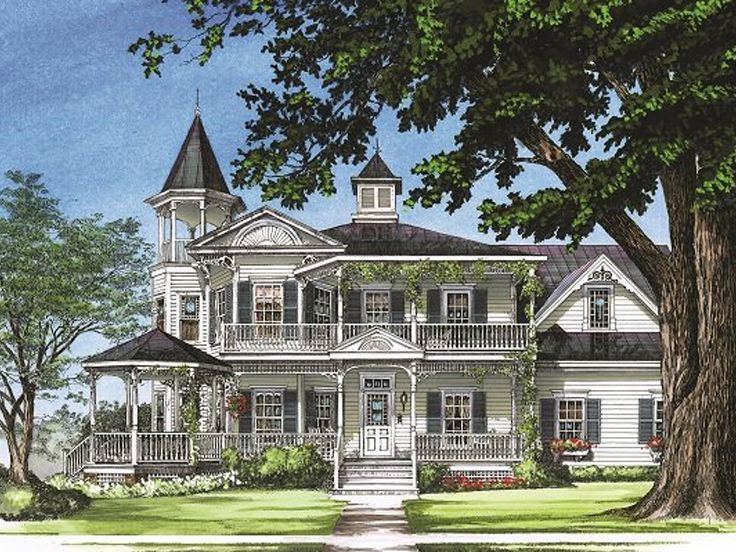Plan 063h 0184 find unique house plans home plans and for 3 story victorian house floor plans
