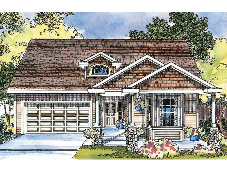 Traditional Home Plan, 051H-0077