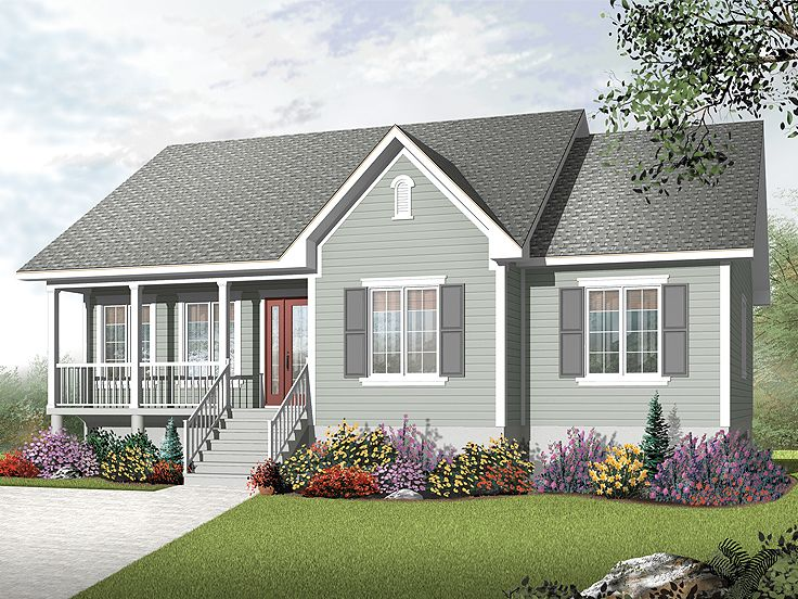 Affordable House Plan, 027H-0302