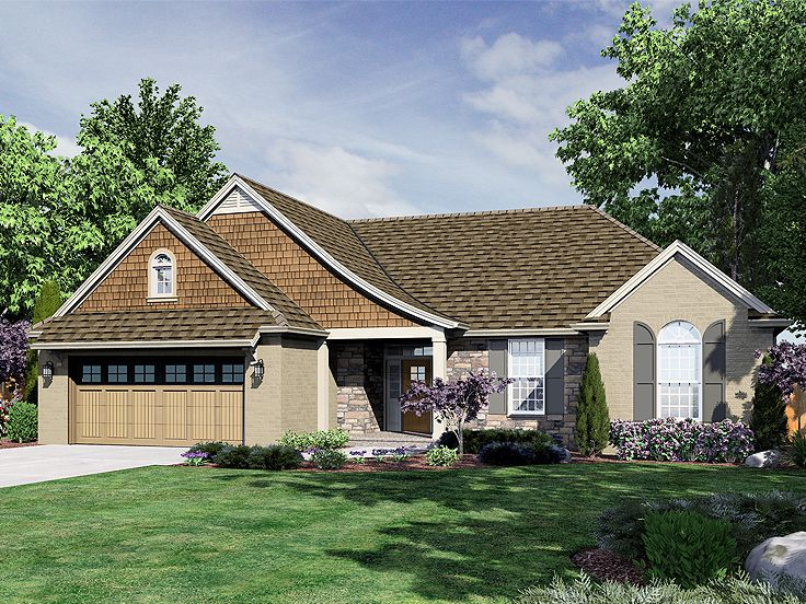 Plan 046h 0080 find unique house plans home plans and for Custom one story homes