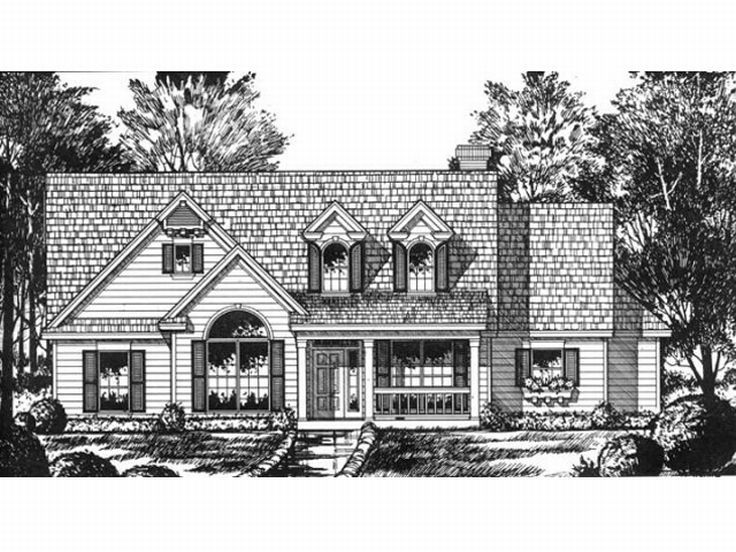 Affordable House Plan, 015H-0061