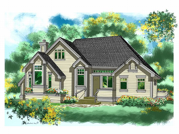 Small House Plan, 010H-0007