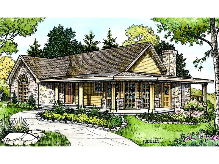 1-Story House Plan, 008H-0020