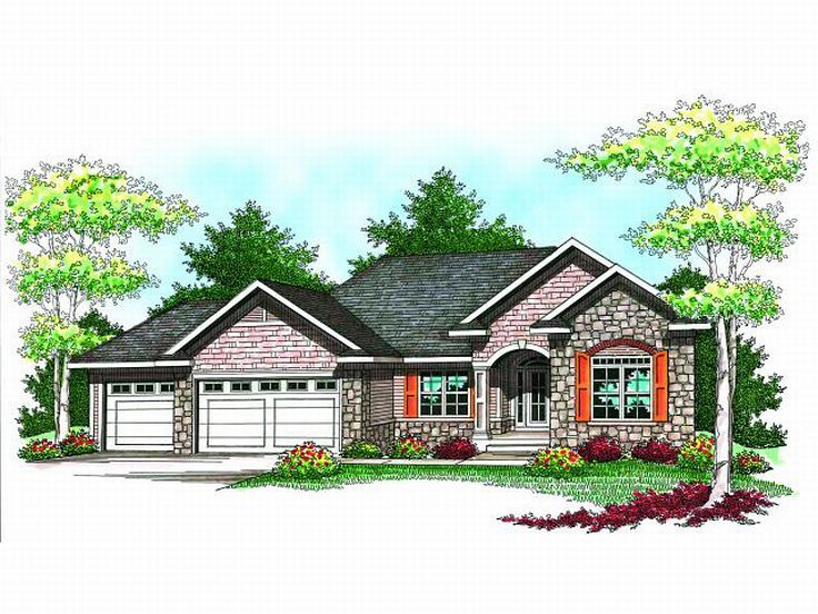 Small european style house floor plans modern world for Unique european house plans