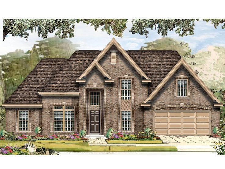 Traditional House Plan, 061H-0171