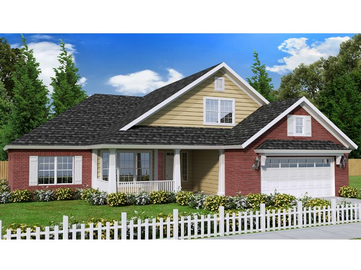 Ranch House Plan, 059H-0182