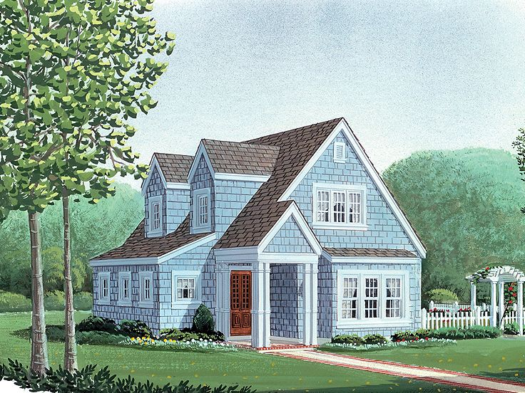 Plan 054h 0098 find unique house plans home plans and for Cape cod tiny house