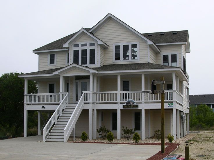 Beach Home Plan Photo, 041H-0008