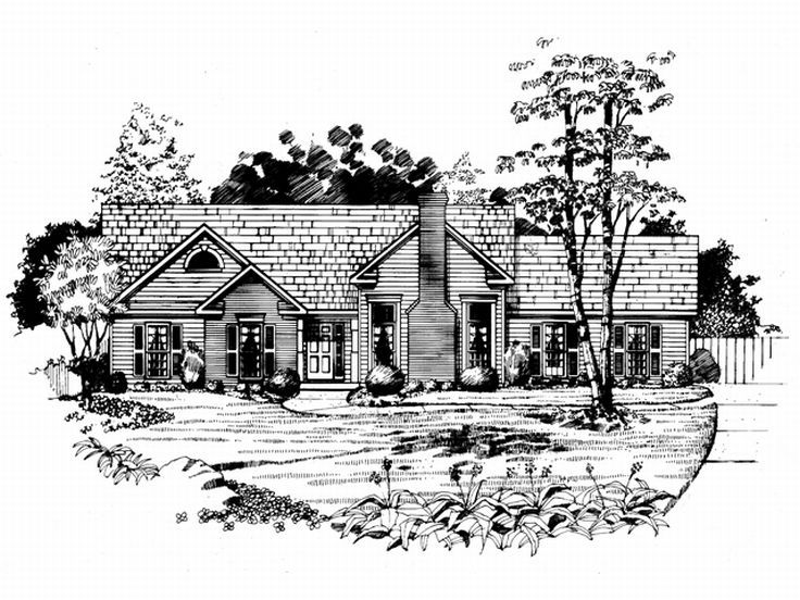 Small Home Plan, 019H-0116