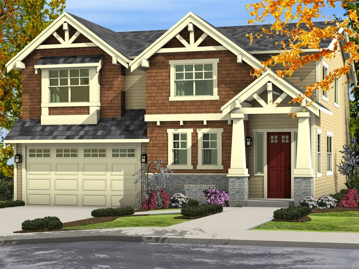 Craftsman Home Plan, 035H-0126