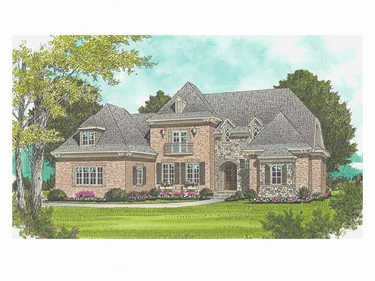 Two-Story Home Plan, 029H-0064