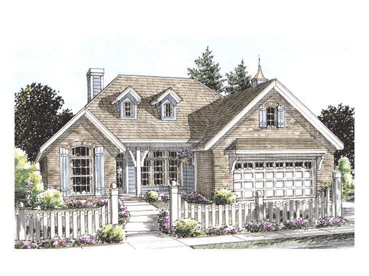 Affordable Home Plan, 059H-0075
