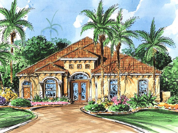 Florida House Plan, 040H-0043