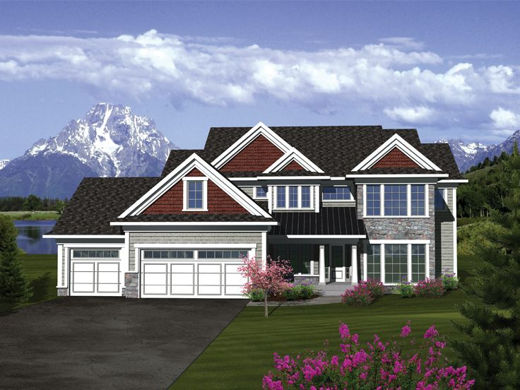 Two-Story Home Plan, 020H-0303