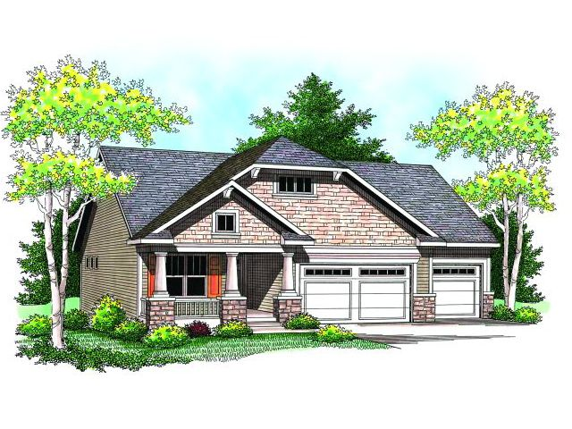 Bungalow House Plan, 020H-0164
