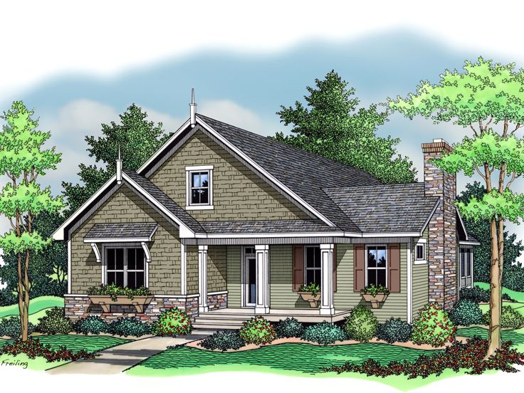 Small Country House, 023H-0087