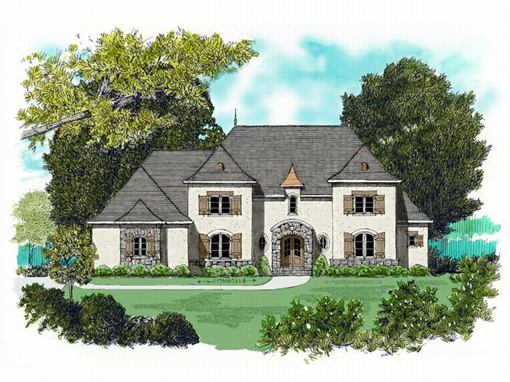 2-Story House Plan, 029H-0047