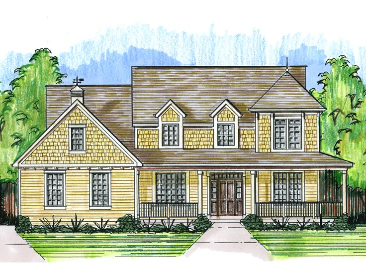 Country House Plan, 046H-0089