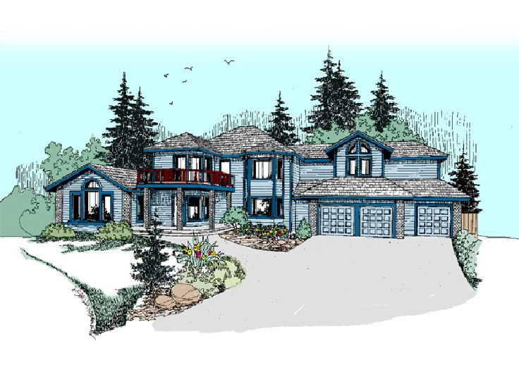 Luxury House Plan, 013H-0079