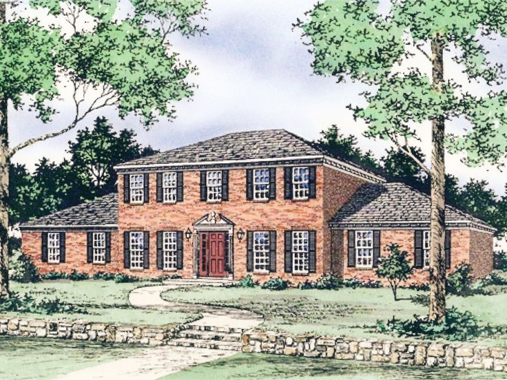 Cape Cod House Plan, 009H-0038