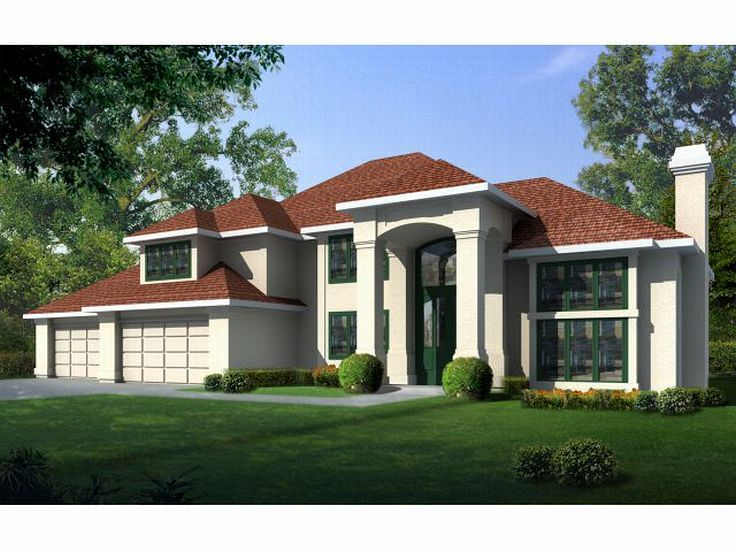 Mediterranean Home Design, 026H-0024