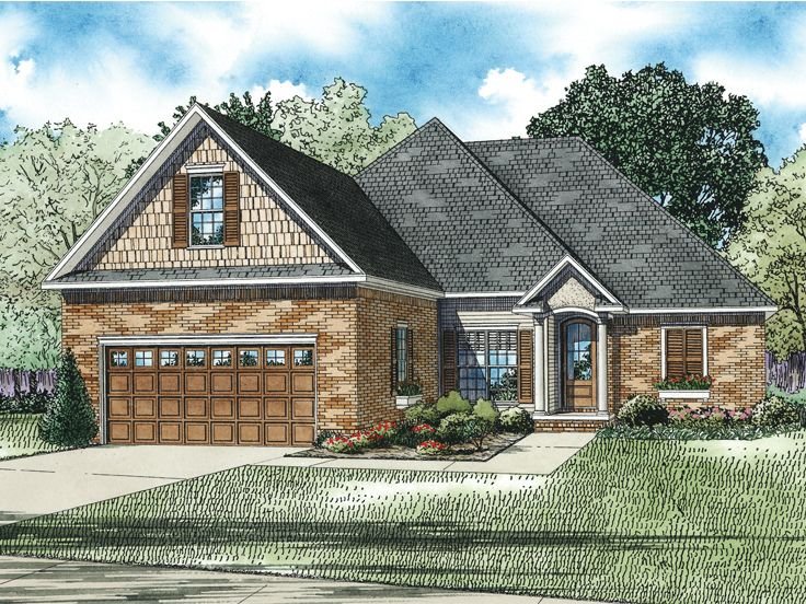 Traditional Home Plan, 025H-0262