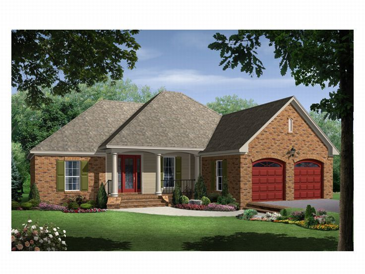 Affordable Home Plan, 001H-0050