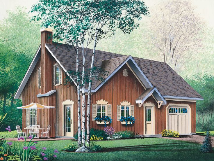 Narrow Lot Home Plan, 027H-0178