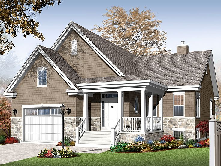 Ranch House Plan, 027H-0242