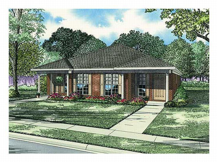 Duplex Home Plan, 025M-0047