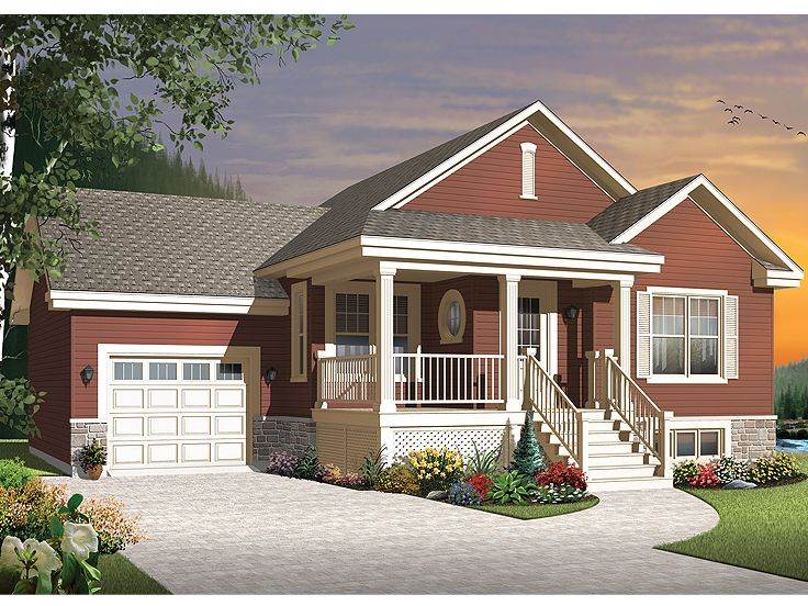 Small House Plan, 027H-0293