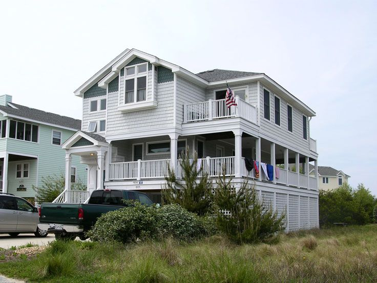 Beach Home Plan, 041H-0010