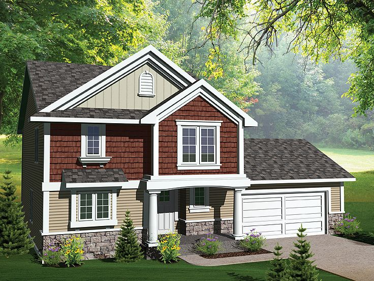 Affordable Home Plan, 020H-0250