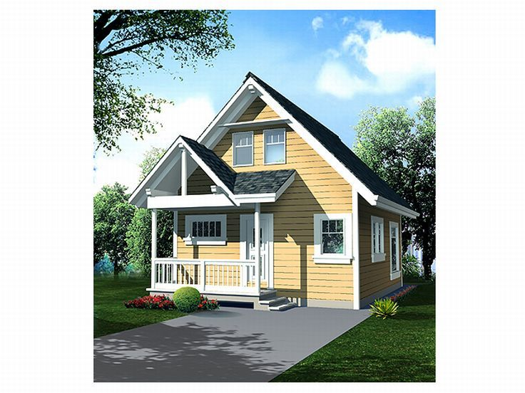 Love Shack House Plan, 010H-0002