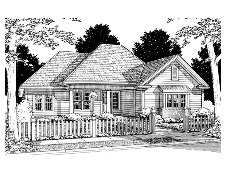 Affordable Home Plan, 059H-0044