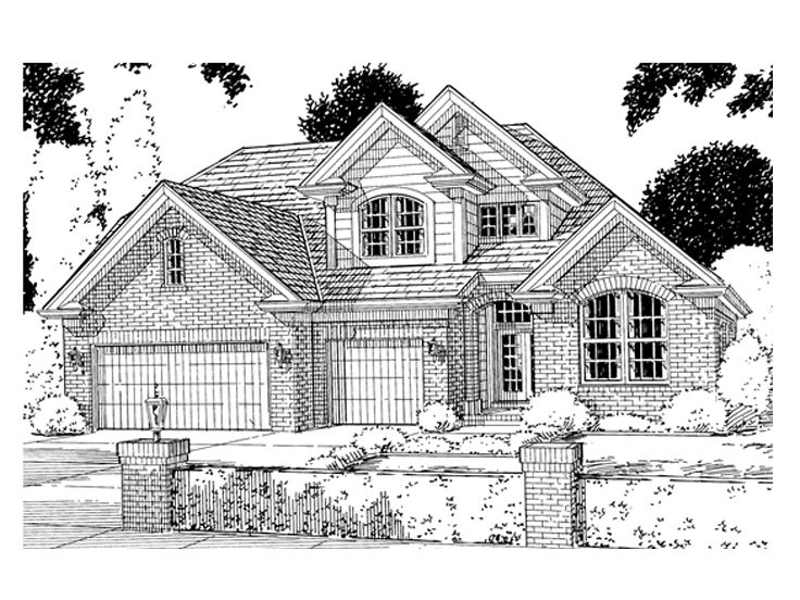 Traditional Home Design, 059H-0033