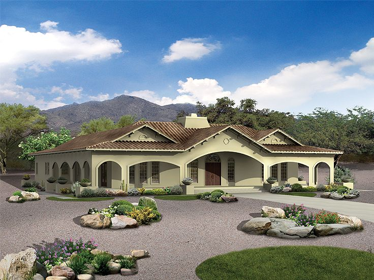 Plan 057h 0023 find unique house plans home plans and for Large mediterranean house plans