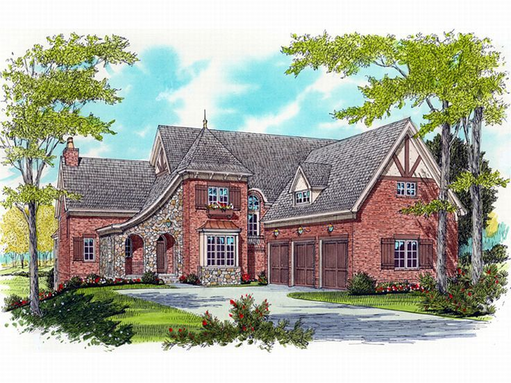 European Home Plan, 029H-0065