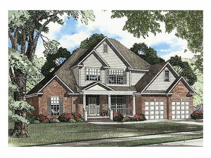 2-Story House Plan, 025H-0103