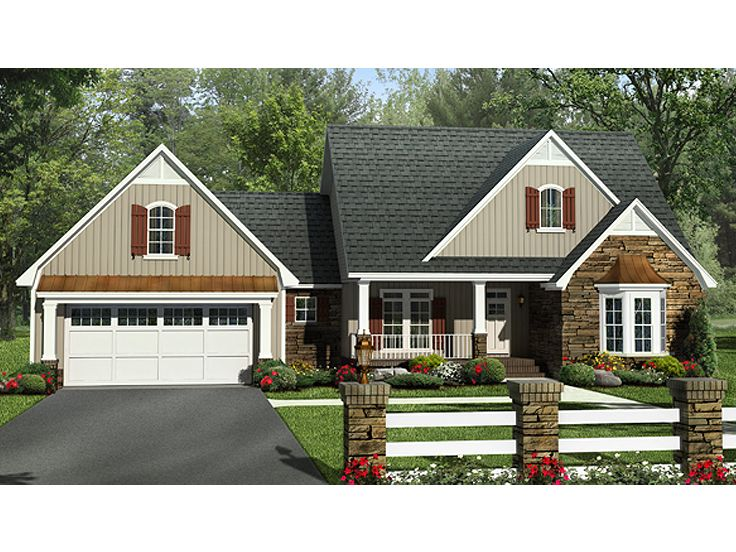 Family House Plan, 001H-0179