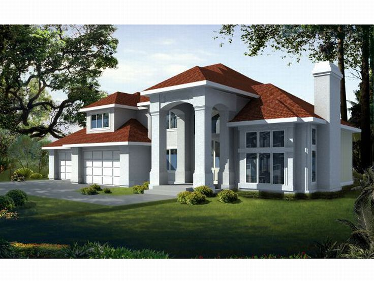 Mediterranean Home Plan, 026H-0028