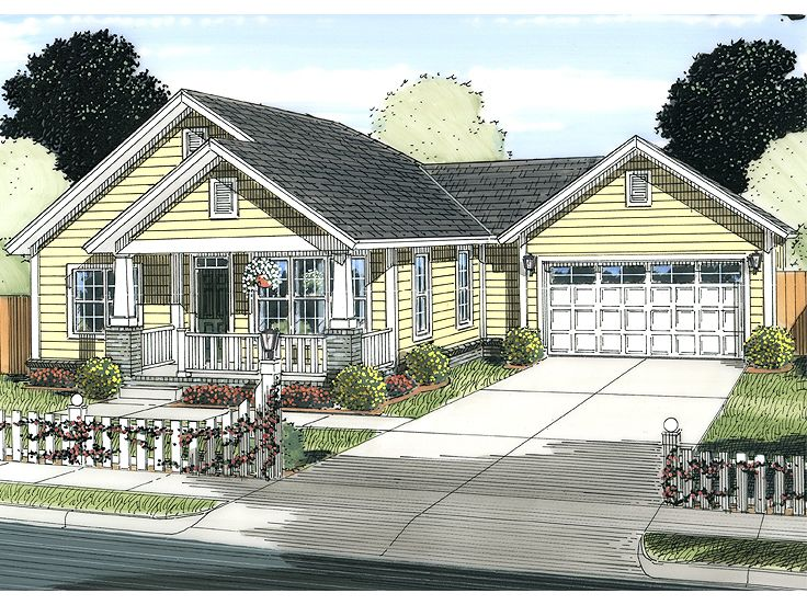 Small House Plan, 059H-0173