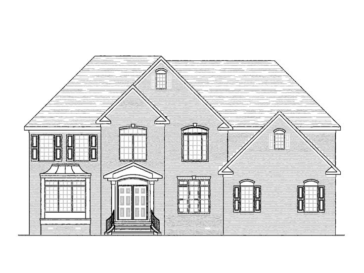 Two-Story House Plan, 058H-0108