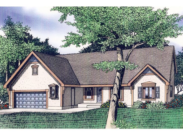 Sunbelt House Plan, 009H-0052