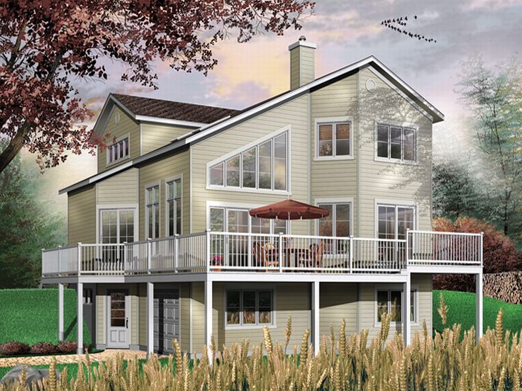 Coastal Home Plan, 027H-0115