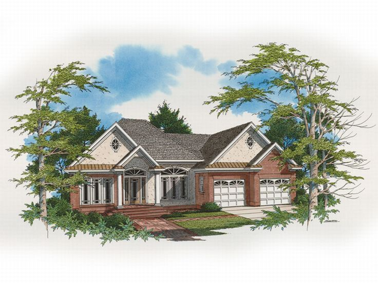 European Home Plan, 030H-0042